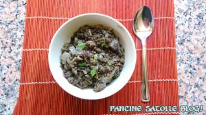 zuppa lenticchie nere e porri 1